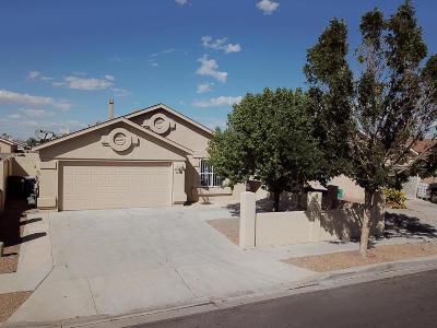 Albuquerque Single Family Home For Sale: 7401 Desert Canyon Place SW