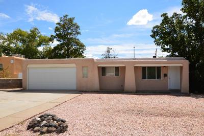 Albuquerque Single Family Home For Sale: 10004 Matthew Avenue NE