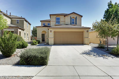 Rio Rancho Single Family Home For Sale: 3712 Clear Creek Road NE