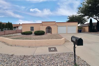 Albuquerque Single Family Home For Sale: 5904 Tioga Road NW