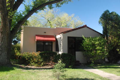 Albuquerque Single Family Home For Sale: 1616 Roma Avenue