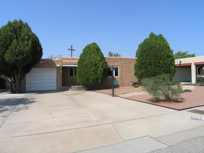 Albuquerque Single Family Home For Sale: 3709 La Hacienda Place NE