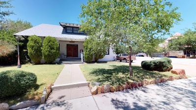 Albuquerque Single Family Home For Sale: 121 High Street NE