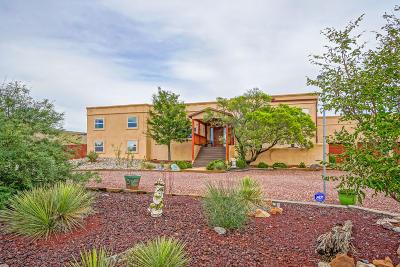 Valencia County Single Family Home For Sale: 388 La Entrada Road