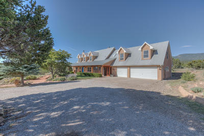 Sandia Park Single Family Home For Sale: 65 Harms Road