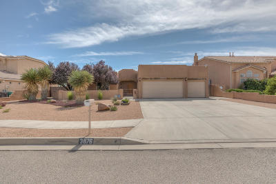 Rio Rancho Single Family Home For Sale: 3876 Bay Hill Loop SE