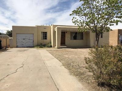 Albuquerque Single Family Home For Sale: 529 Georgia Street SE
