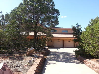 Tijeras Single Family Home For Sale: 5 Pine View Place