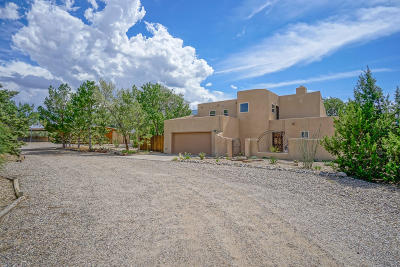 Placitas Single Family Home For Sale: 6 Strahl Avenue