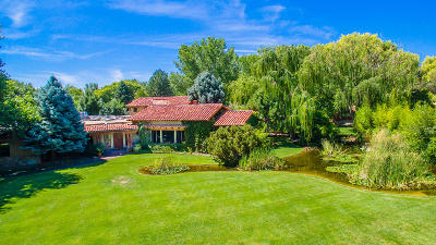 Los Ranchos Single Family Home For Sale: 5425 Eakes Road NW