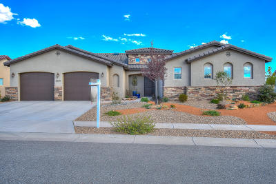 Rio Rancho Single Family Home For Sale: 5509 Pikes Peak Loop NE