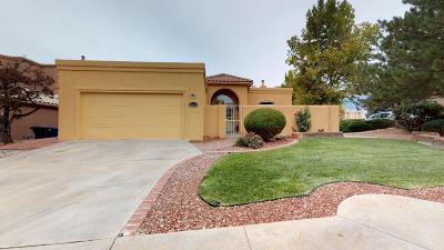 Albuquerque NM Single Family Home For Sale: $482,000