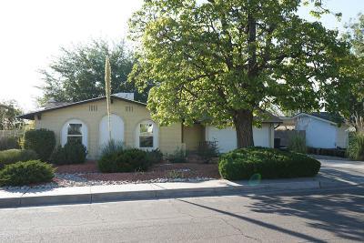 Albuquerque Single Family Home For Sale: 2309 Algodones Street NE