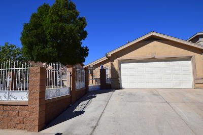 Albuquerque Single Family Home For Sale: 439 Barberry Street SW