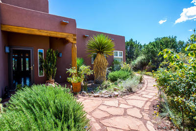 Placitas Single Family Home For Sale: 10 Freeform Way