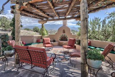 Bernalillo, Placitas Single Family Home For Sale: 18 Calle Chamisa