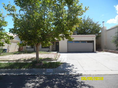 Albuquerque Single Family Home For Sale: 7512 Mesquite Wood Drive NW