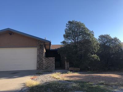 Albuquerque NM Single Family Home For Sale: $158,000