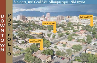 Albuquerque Multi Family Home For Sale: 1116 Coal Avenue SW