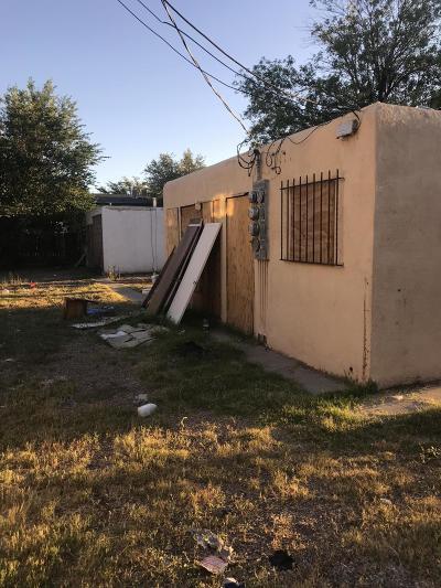 Albuquerque NM Multi Family Home For Sale: $80,000