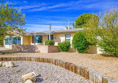 Single Family Home For Sale: 9201 Lagrima De Oro Road NE