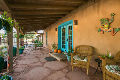 Corrales Single Family Home For Sale: 135 Perea Road