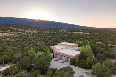 Tijeras, Cedar Crest, Sandia Park, Edgewood, Moriarty, Stanley Single Family Home For Sale: 3 Vista De Sandia