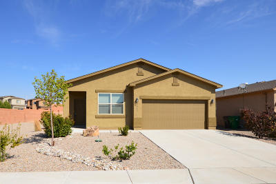 Rio Rancho Single Family Home For Sale: 1422 Blue Sky Loop NE