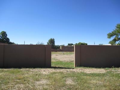 Los Ranchos Residential Lots & Land For Sale: 1020 Ortega Road NW