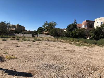 Albuquerque Residential Lots & Land For Sale: 13909 Lomas Blvd Boulevard NE