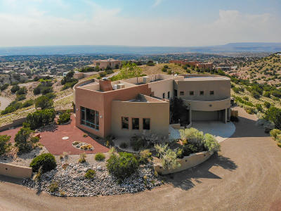 Placitas Single Family Home For Sale: 1 Cielo Grande Drive