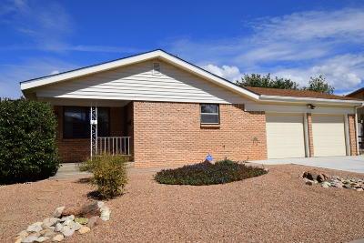 Albuquerque Single Family Home For Sale: 9213 Gutierrez Road NE