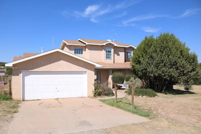 Tijeras, Cedar Crest, Sandia Park, Edgewood, Moriarty, Stanley Single Family Home For Sale: 65 Anne Pickard Loop