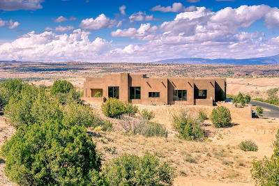 Placitas Single Family Home For Sale: 3 Chaco Mesa Trail
