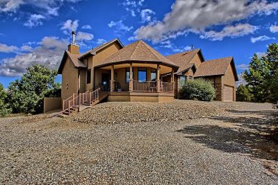 Tijeras, Cedar Crest, Sandia Park, Edgewood, Moriarty, Stanley Single Family Home For Sale: 22 Holiday Drive