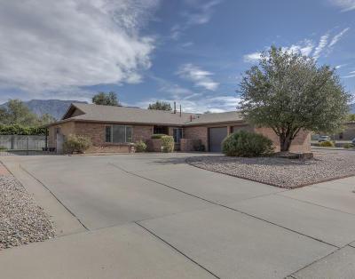 Single Family Home For Sale: 9817 Camino Del Sol NE