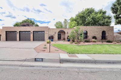 Single Family Home For Sale: 7920 Sartan Way NE