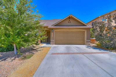 Albuquerque Single Family Home For Sale: 6257 Azaleas Road NW