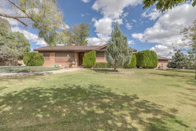 Valencia County Single Family Home For Sale: 112 Estrella Place