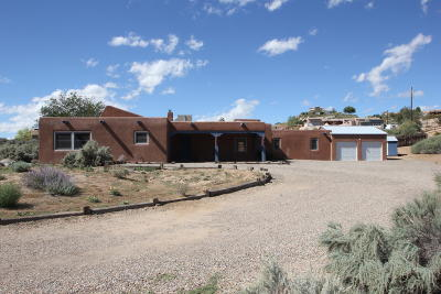 Corrales Single Family Home For Sale: 2085 Loma Larga Road