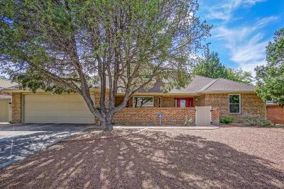 Single Family Home For Sale: 7716 Vista Del Arroyo Avenue NE