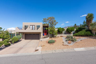 Single Family Home For Sale: 13409 Desert Hills Place NE