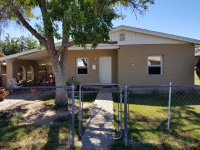 Belen Single Family Home For Sale: 1005 Dillon Avenue