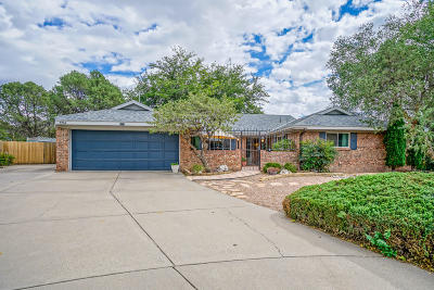Albuquerque Single Family Home For Sale: 7724 Northridge Avenue NE