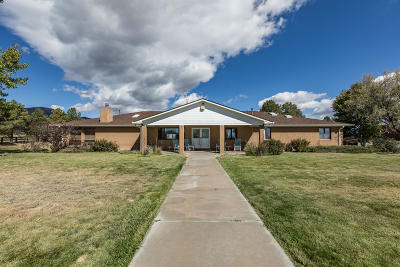 Tijeras, Cedar Crest, Sandia Park, Edgewood, Moriarty, Stanley Single Family Home For Sale: 61 Moonbeam Ranch Road # A