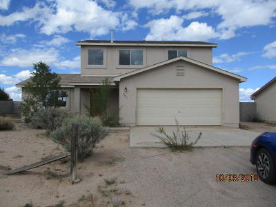 Rio Rancho Single Family Home For Sale: 5011 27th Avenue NE
