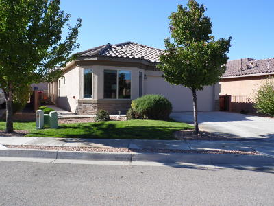 Bernalillo, Placitas Single Family Home For Sale: 735 Vista Patron Drive