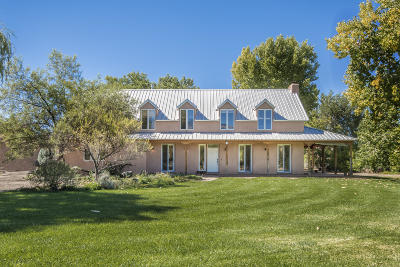 Corrales Single Family Home For Sale: 5 Manzano Road