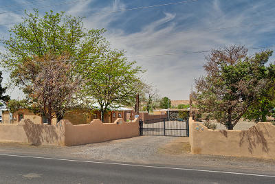 Belen, Los Lunas Single Family Home For Sale: 1408 Highway 116