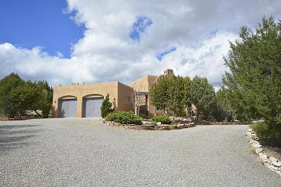 Tijeras, Cedar Crest, Sandia Park, Edgewood, Moriarty, Stanley Single Family Home For Sale: 13 Canada Vista Drive